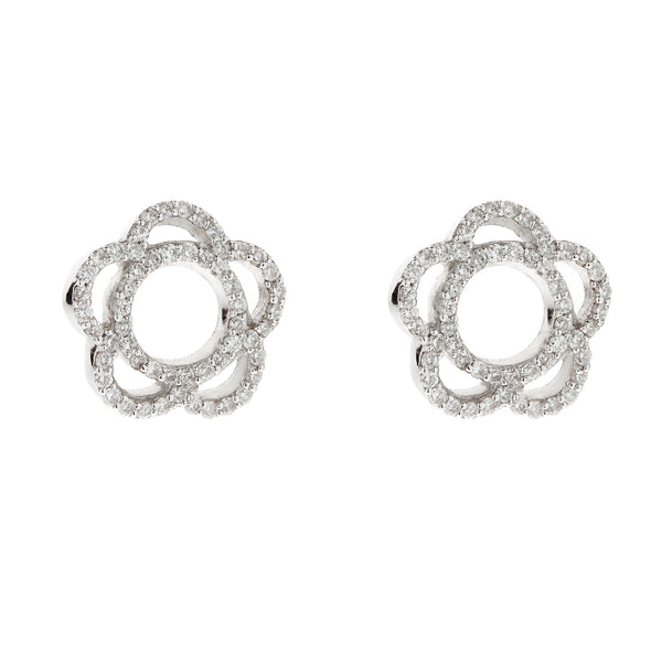 Earring gold diamond ca 21069