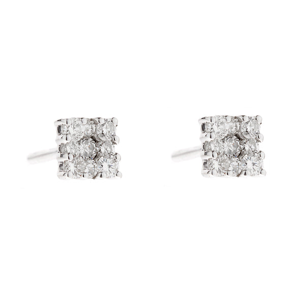 Earring gold diamond ca 22103