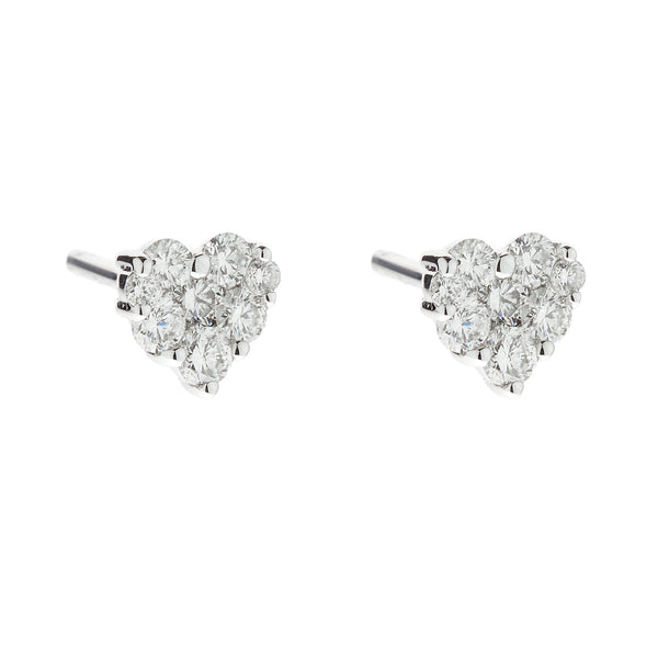 Earring gold diamond ca 22007