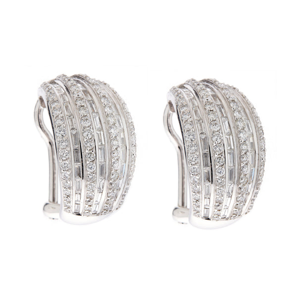 Earring gold diamond ca 11426