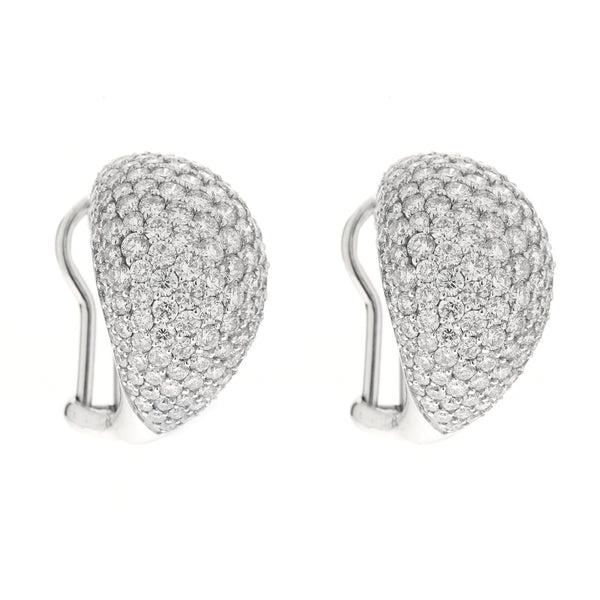 Earring gold diamond ca 21487