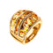 RING YELLOW GOLD CITRINE JR-1128