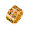 Love  Ring Gold Citrine
