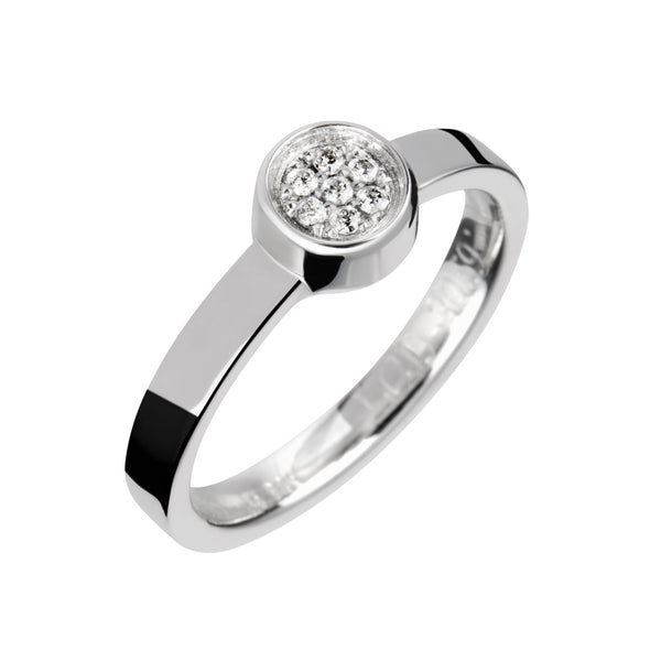 Ring Silver Diamond