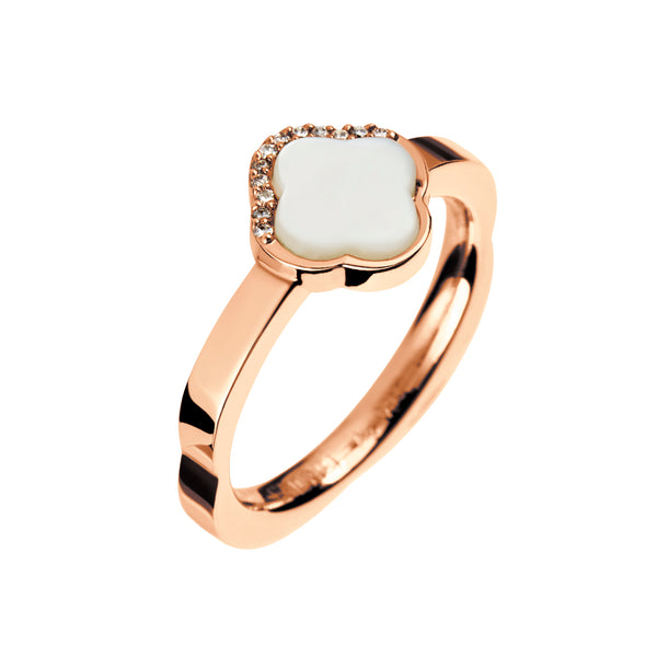 Ring Rose Gold Pearl