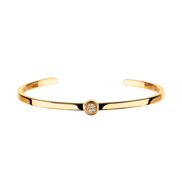 Bangle Yellow Gold &Diamond