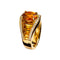 Love RING YELLOW GOLD CITRIN JR-1125