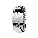 Ring Trinity  Silver Diamond Oreage Lcd-3093