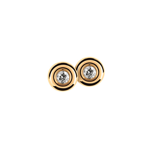 Earring Gold & Diamonds