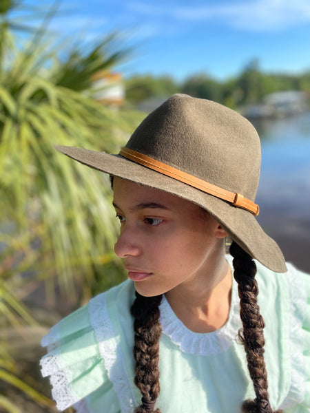 The Rancher Olive Green Felt Hat