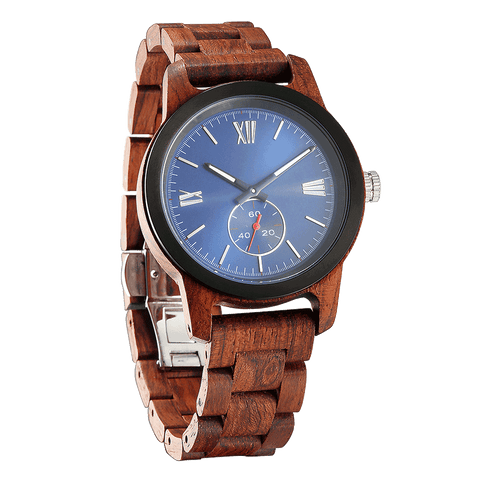 Personalized Engraved Kosso Wood Watch