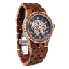Premium Men's Automatic Kosso Wood Watches