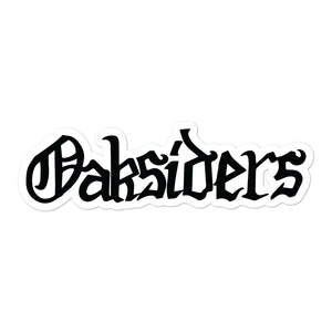 Oaksiders: Sticker