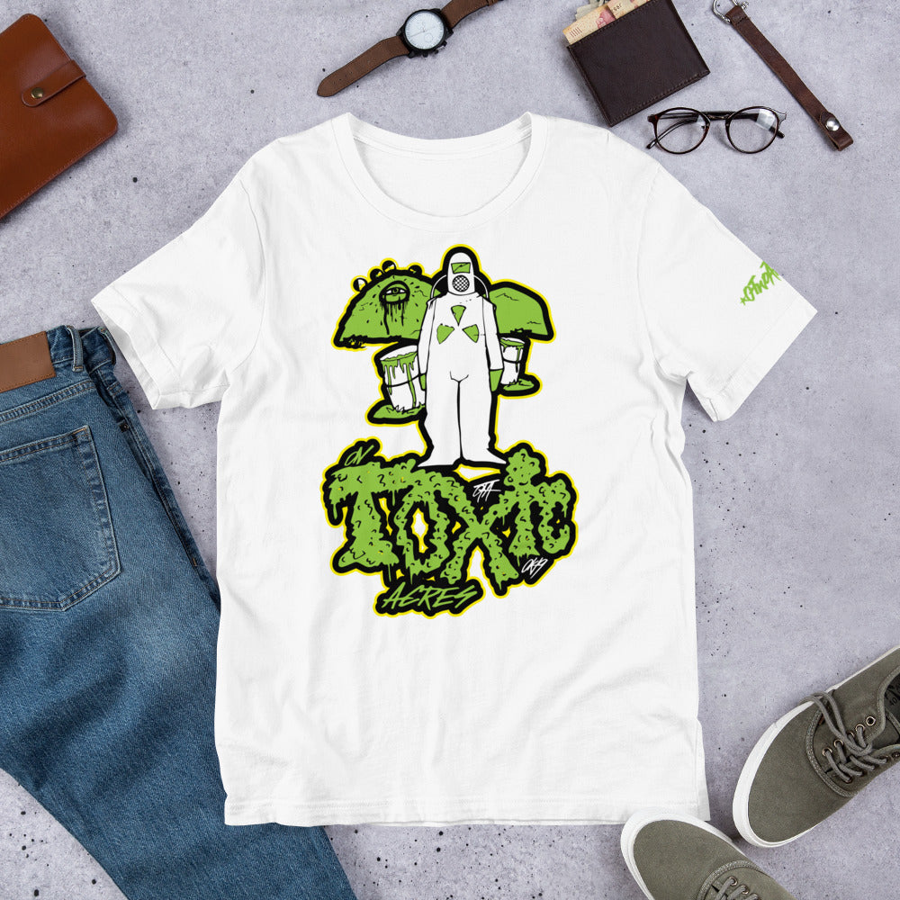 On Toxic Acres--Green Slime VARIANT: Tee