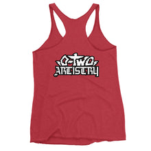 Load image into Gallery viewer, back to basics (black and gray)--Women's Racerback Tank