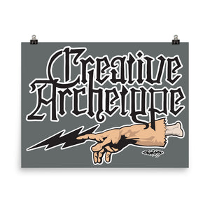 Creative Archetype--The Touch: Poster