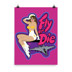 Fly or Die II: Poster