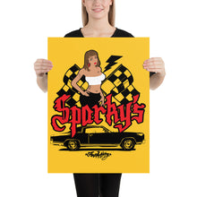 Load image into Gallery viewer, Sparky's: Poster