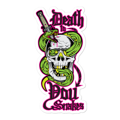 Death to You Snakes: Sticker