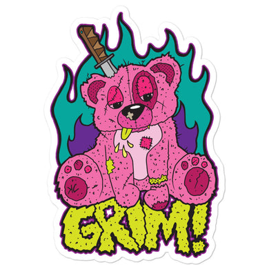 Grim!--sticker