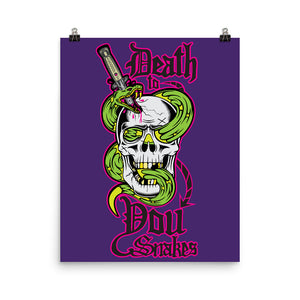 Death to You Snakes: Poster