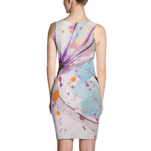 Spring Splattered daisy: Dress
