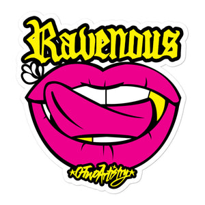 Ravenous: Sticker