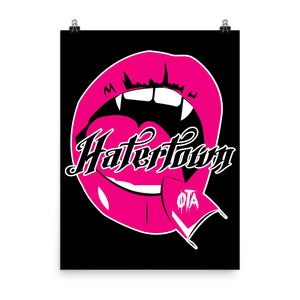 Hatertown--Maneater: Poster