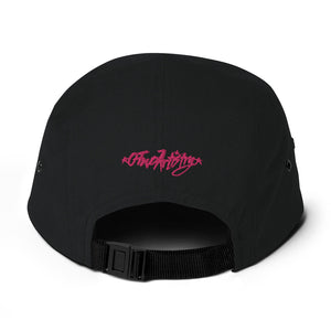Guts & Glory (Pink)--5 Panel Camper
