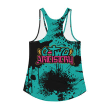 Load image into Gallery viewer, back to basics: Splatter--Women's all over print Racerback Tank