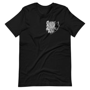 back to the Basics (black and gray)--tee