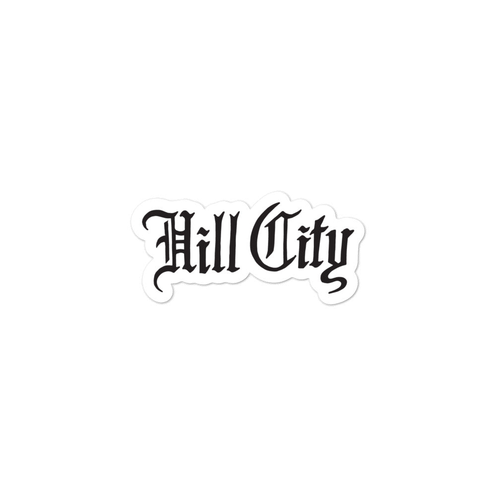 Hill City: Sticker