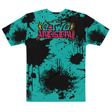 Load image into Gallery viewer, back to basics: Splatter--Men's all over print tee