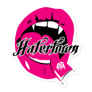 Hatertown--Maneater: Sticker