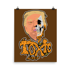 On Toxic Acres--Cheeto Skull: Poster