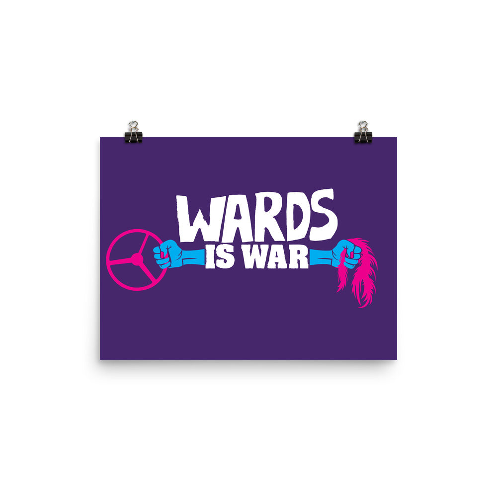 Wards is War: Poster