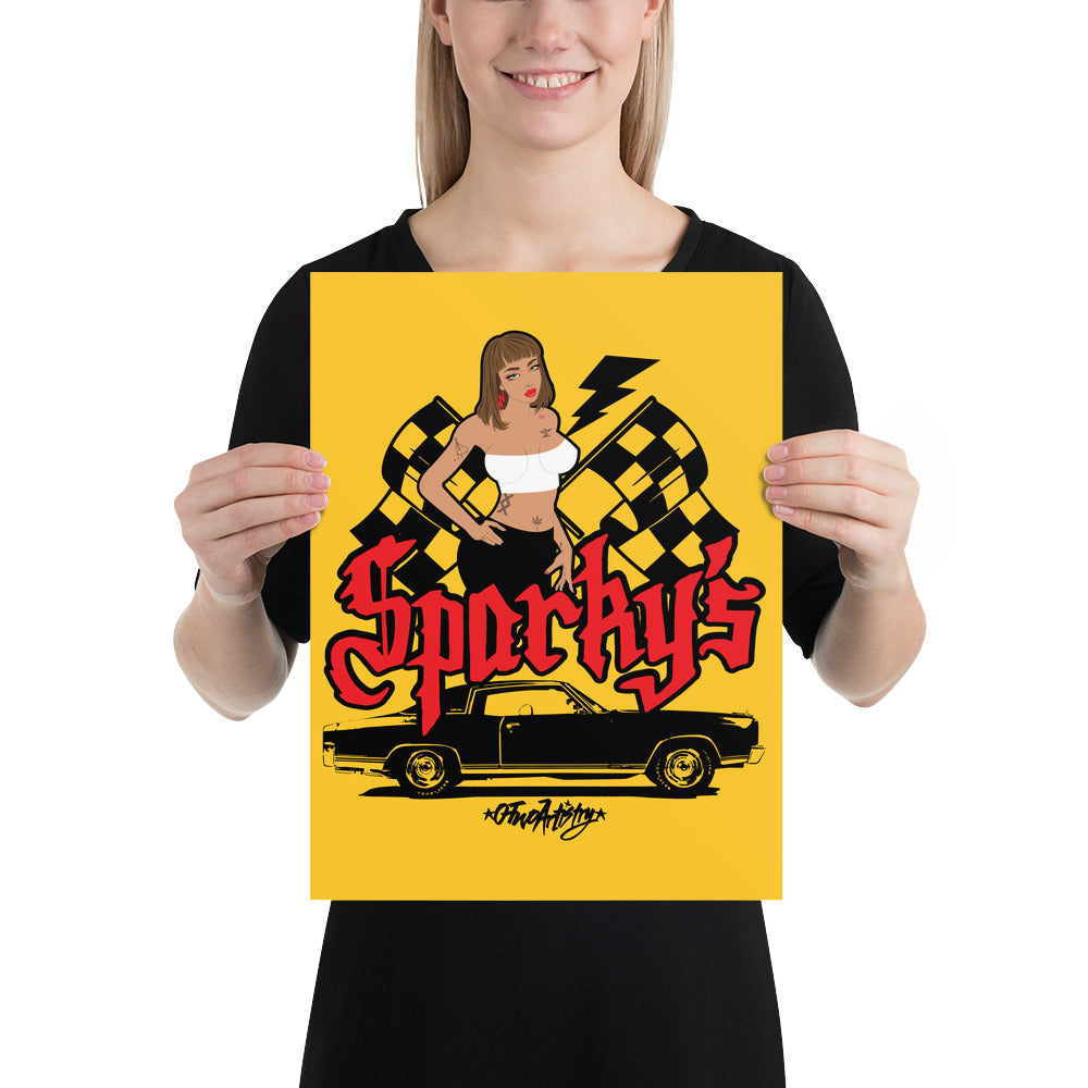 Sparky's: Poster