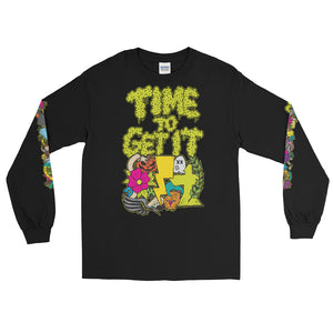 Time to Get it: Long Sleeve tee