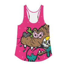 Load image into Gallery viewer, Thirsty--Women's all over print Racerback Tank