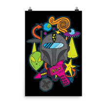 Load image into Gallery viewer, Intergalactic traveler--Poster