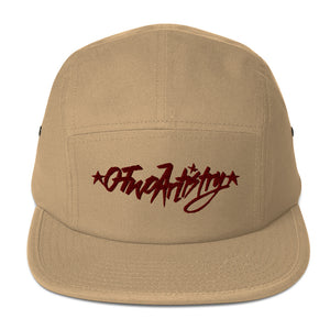 O-Two Artistry tag: Five Panel Cap