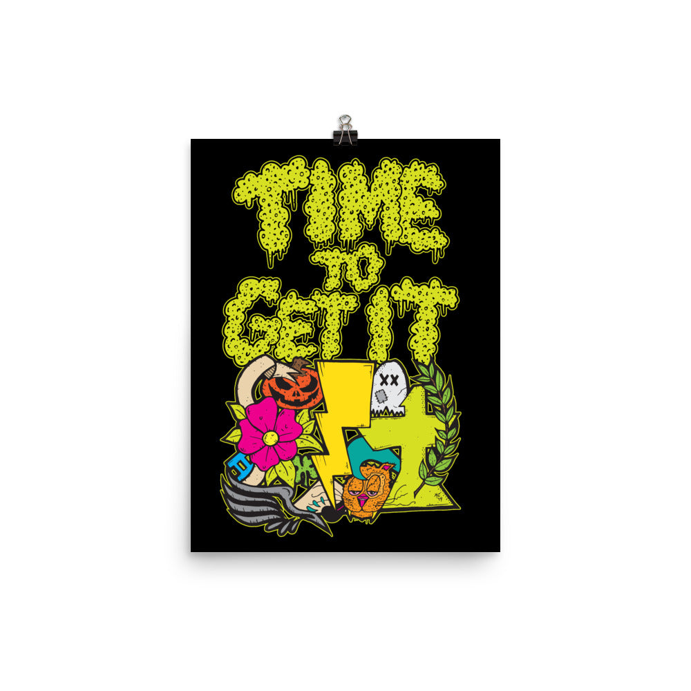 Time to Get it: Poster