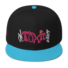 Load image into Gallery viewer, On Toxic Acres-Pink Slime: Snapback Hat