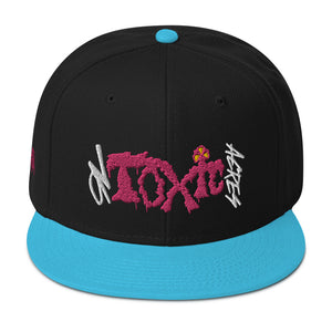 On Toxic Acres-Pink Slime: Snapback Hat
