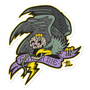 Fly or Die: Bird of War--sticker