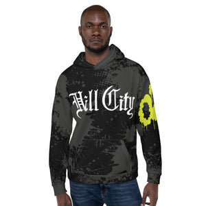 Hill City--All over print Unisex Hoodie
