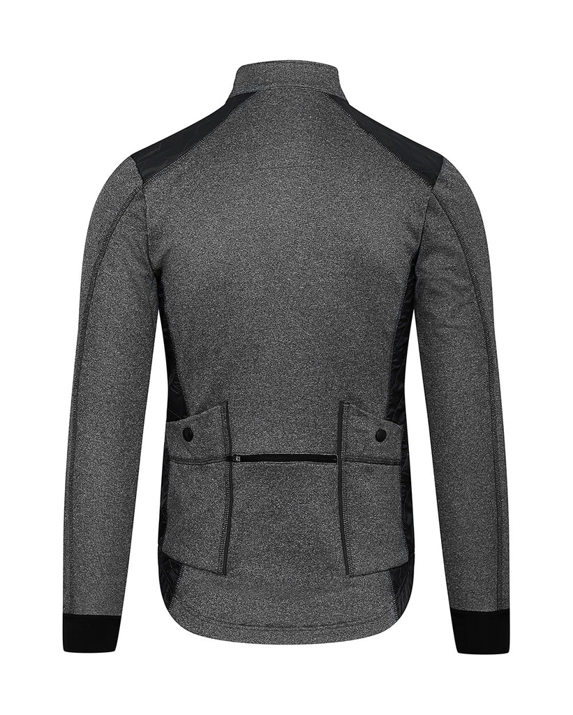 Café Du Cycliste Heidi Winter Jacket Men Grey-Black