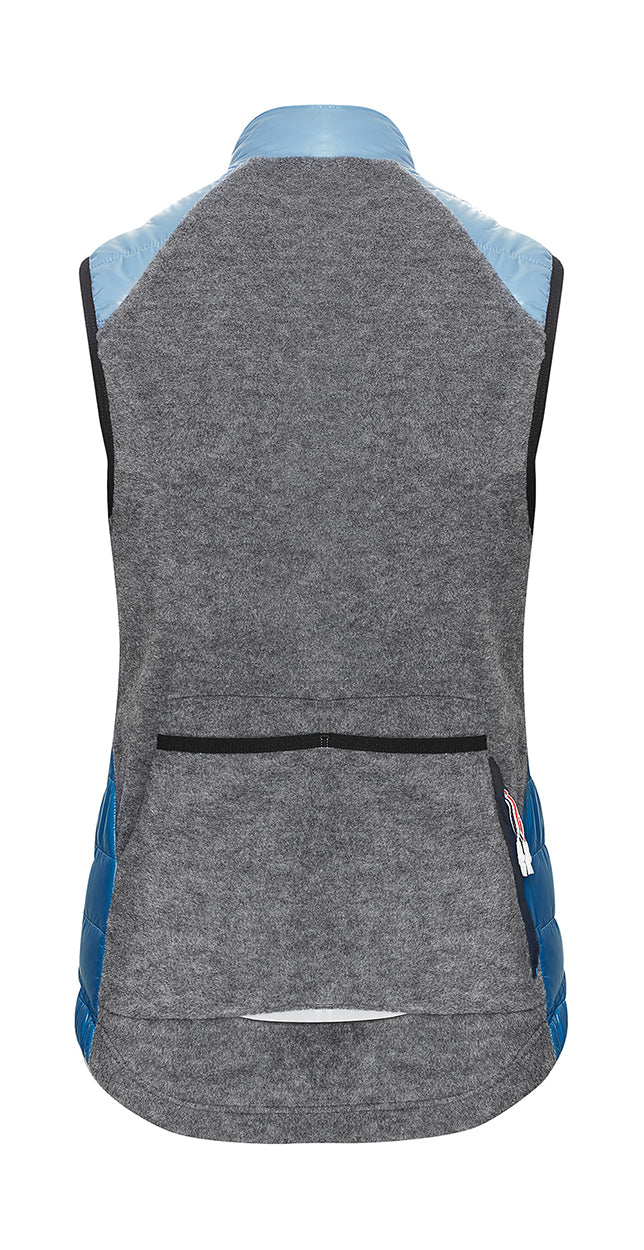 Albertine Winter Gilet Women Duo Blue
