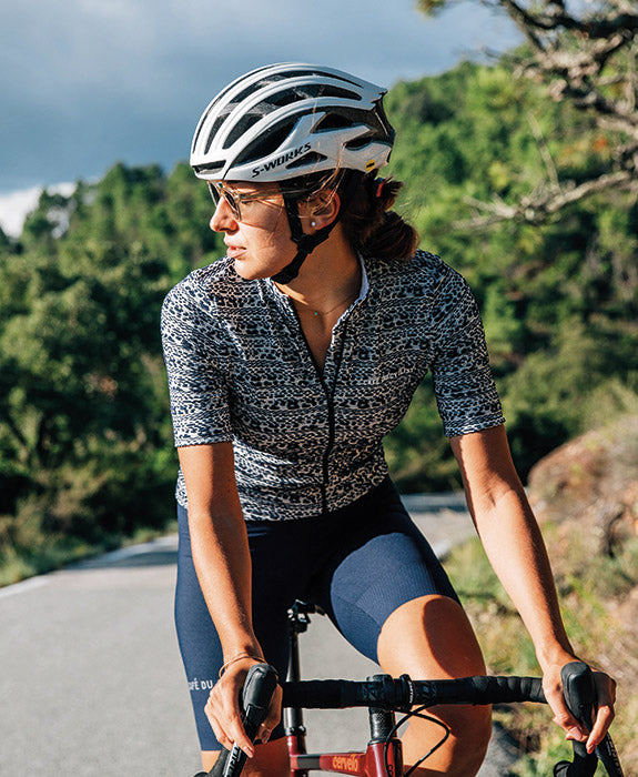 Cafe du Cycliste Francine Navy Woman