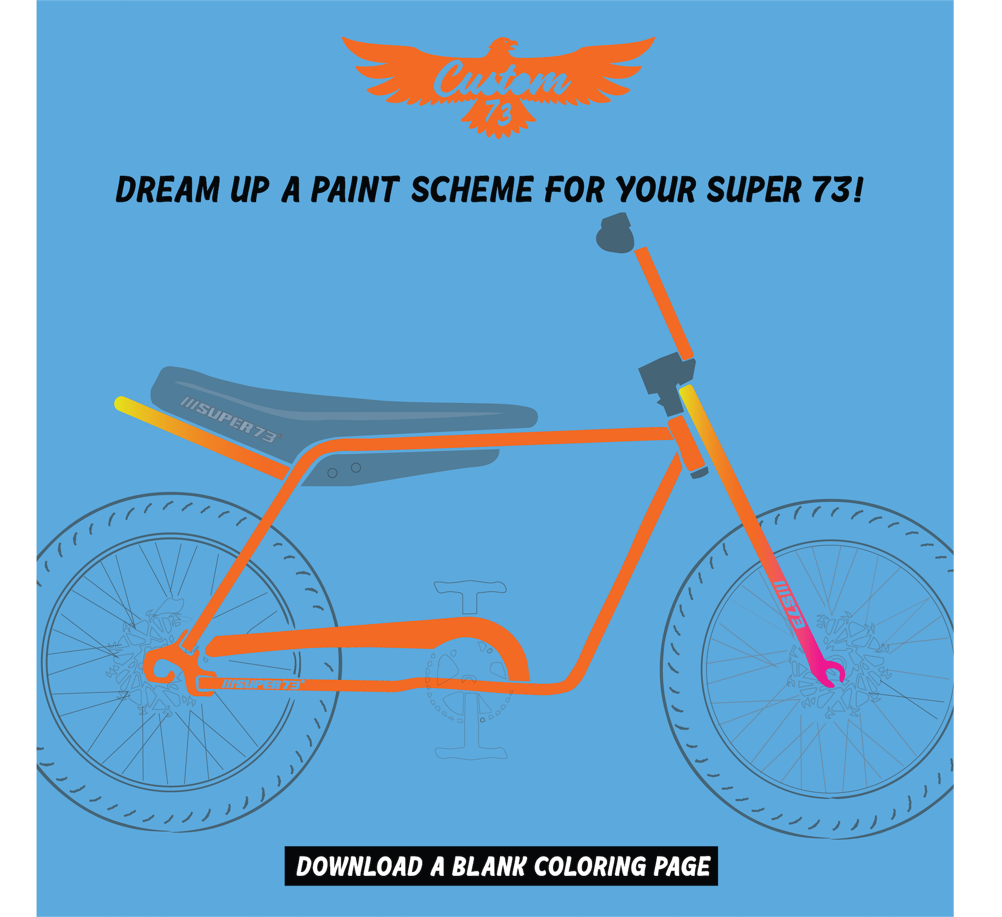 paint for Super 73 Z-1
